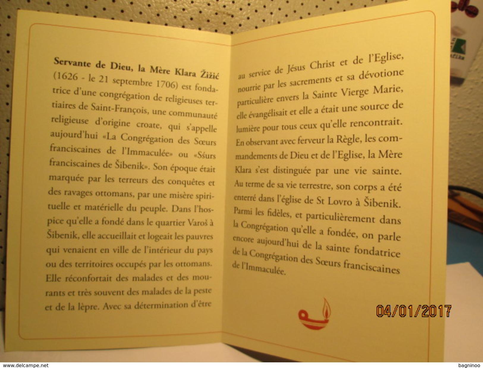 La Mere Klara Zizic Holly Card - Religion & Esotericism