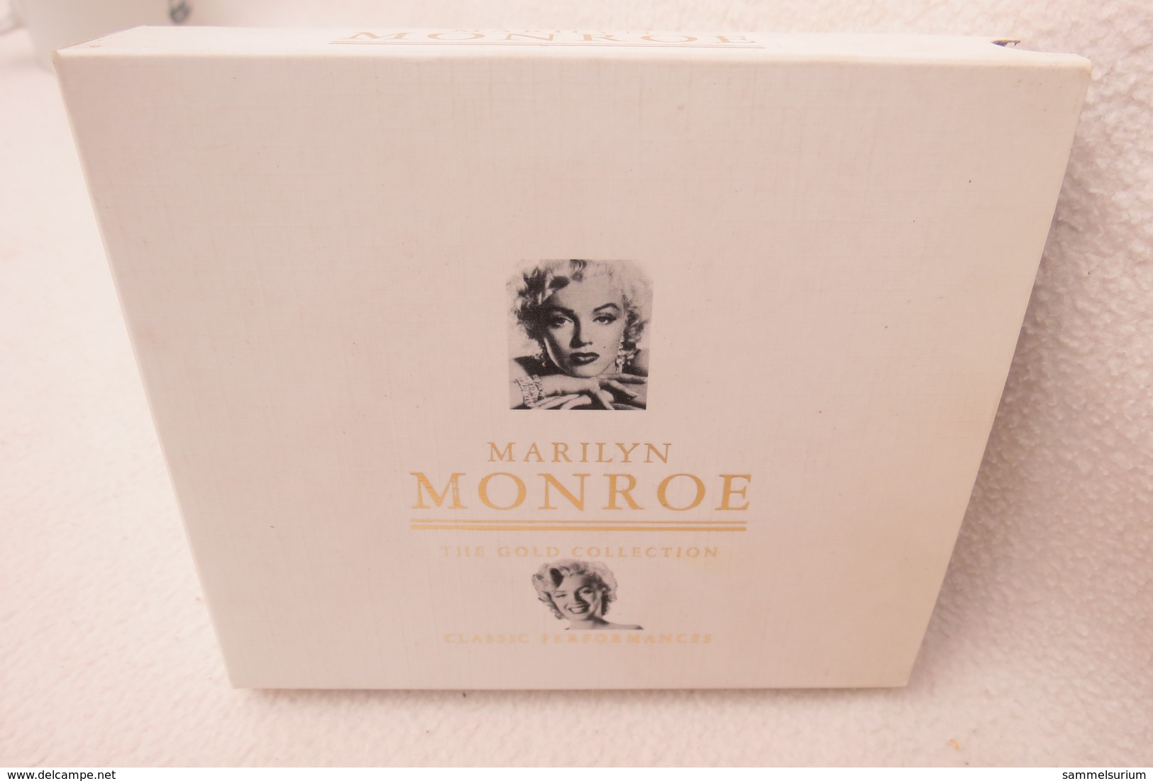 """2 CDs """"Marilyn Monroe"""" Die Gold Collection, Classic Performances - World Music"""