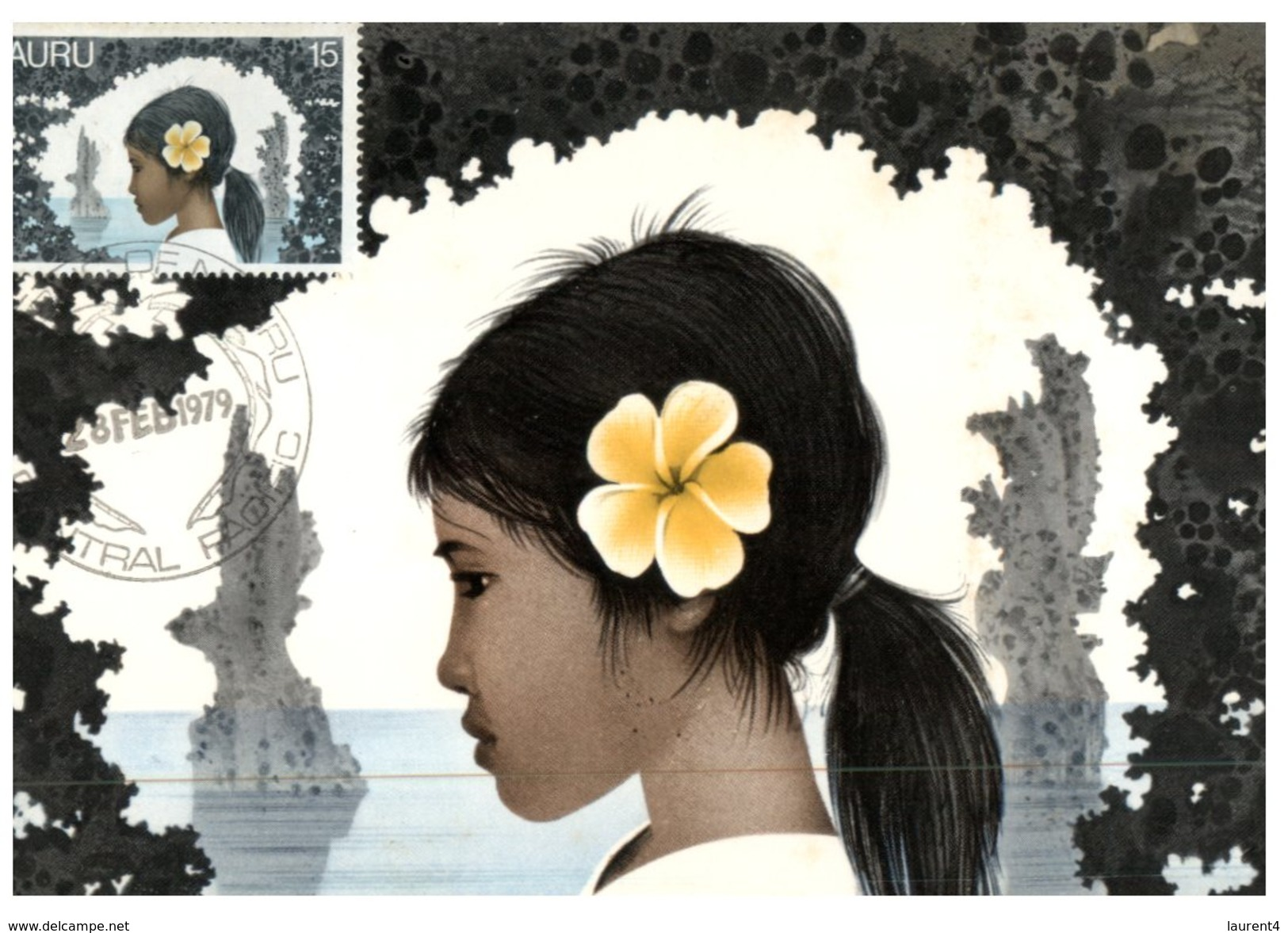 (3000) Nauru - Young Girl - Nauru