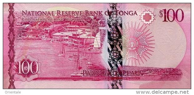 TONGA P. 49 100 P 2015 UNC - Tonga
