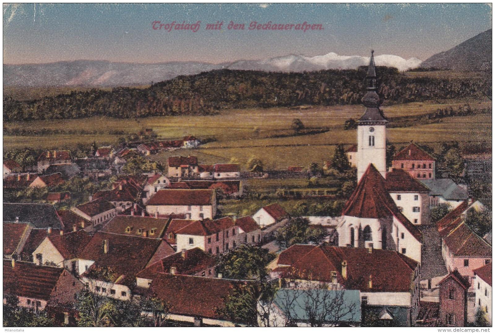 Trofaiach Mit Den Seckaueralpen (03522) * 1917 - Trofaiach
