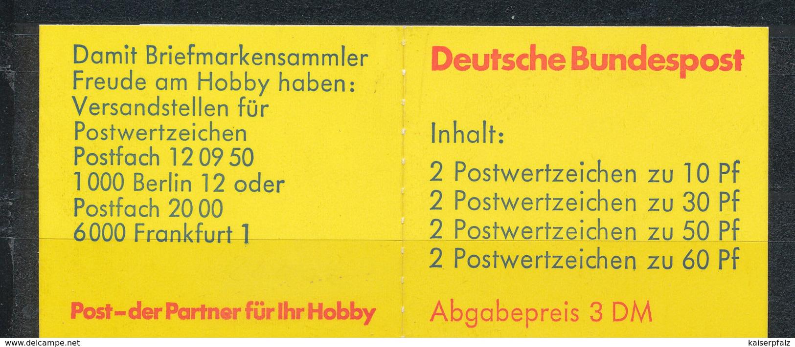 1532) MH 23e OZ Postfrisch - BRD