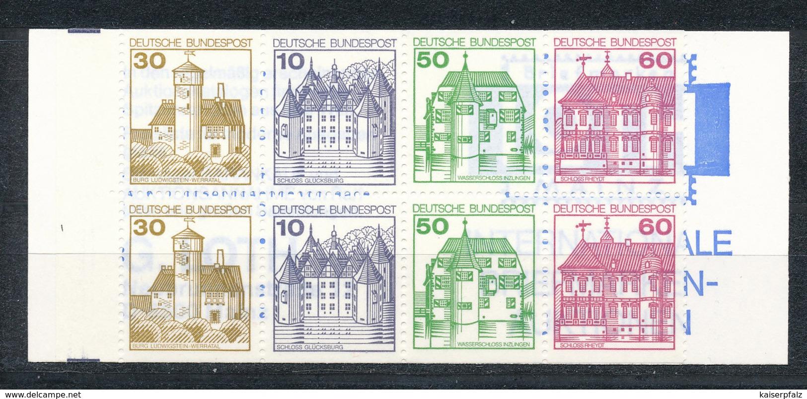 1532) MH 23e OZ Postfrisch - Markenheftchen