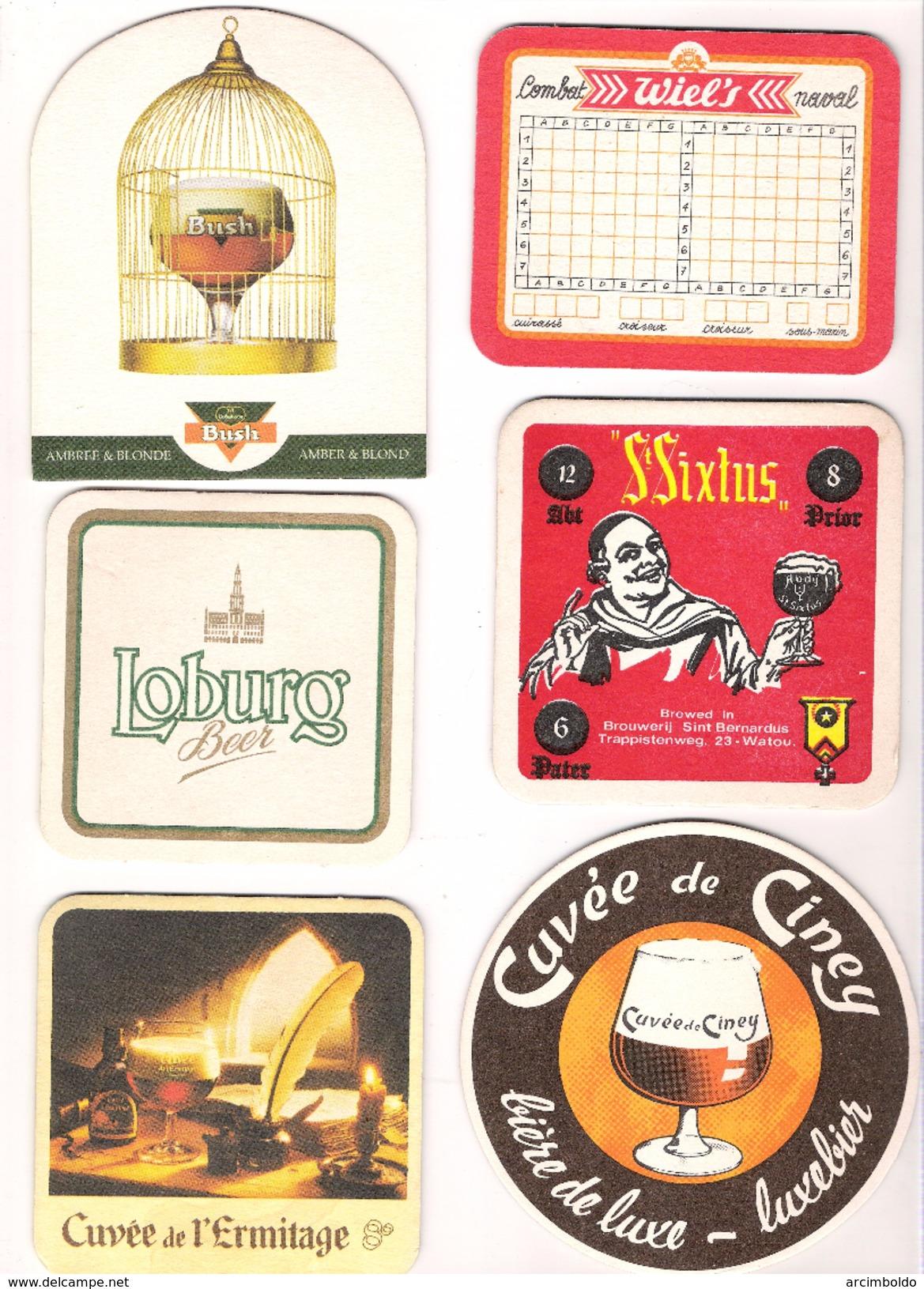 Lot De 29 Sous-bocks Tous Différents (lot 2) - Sous-bocks