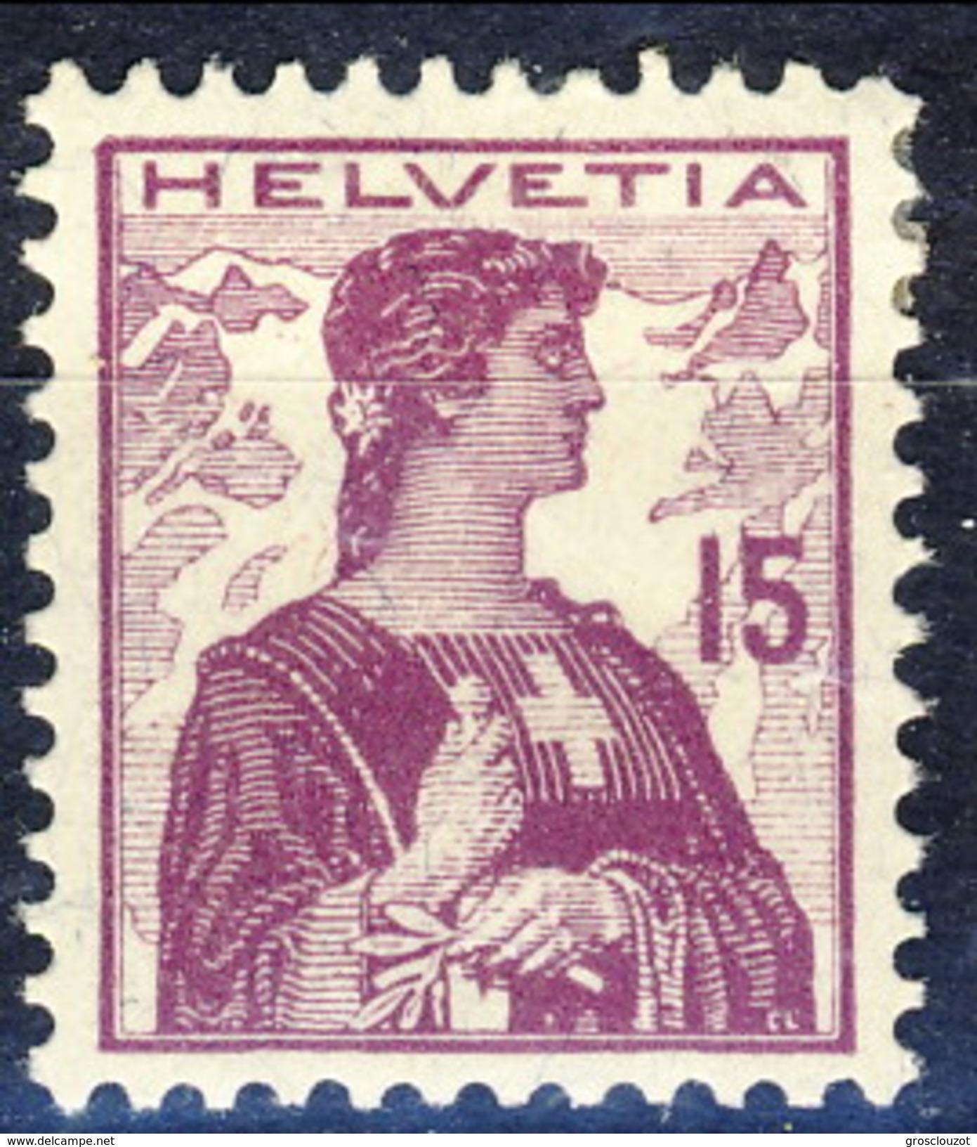 Svizzera 1909 N. 133 MLH Cat. € 38 - Nuovi