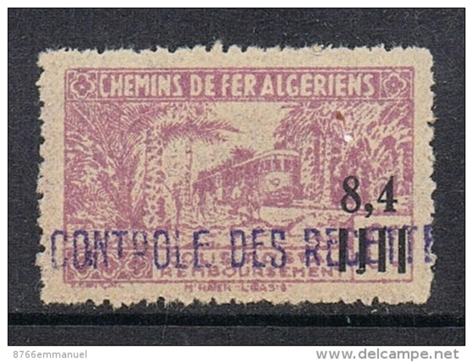 ALGERIE COLIS POSTAL N°138 N* - Algérie (1924-1962)