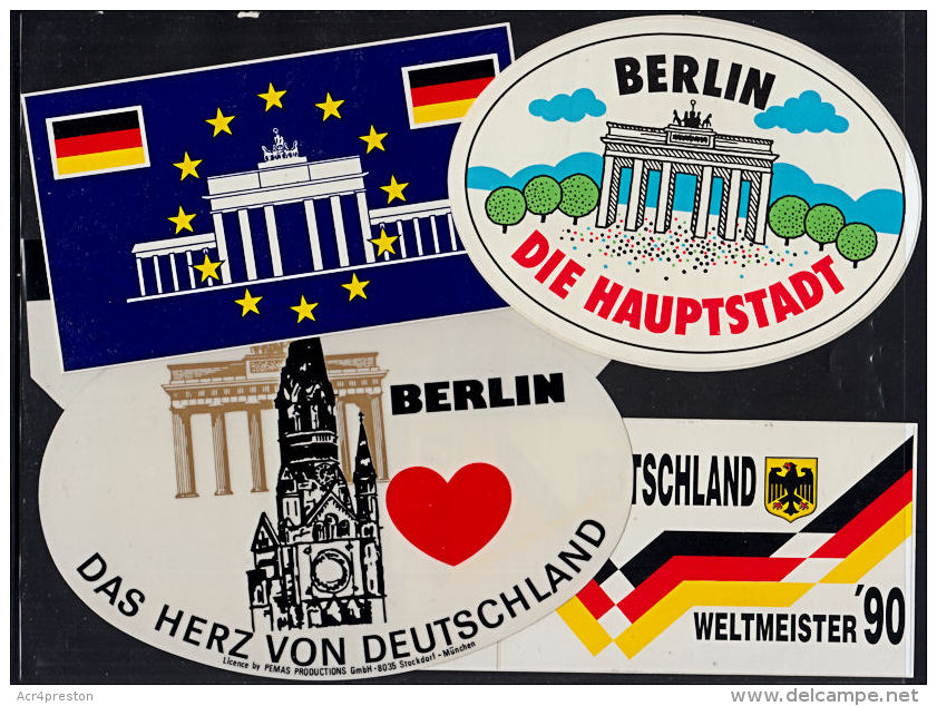 G0053 GERMANY, 8 @ Car Stickers (decals) - Cars
