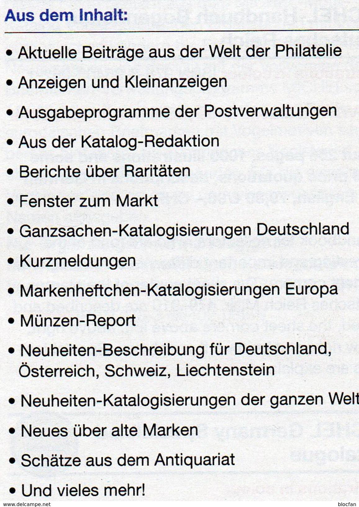 New Stamps MICHEL Briefmarken Rundschau 1/2017-plus Neu 6€ World Catalogue/magacine Of Germany ISBN 978-3-95402-600 - Motivkataloge