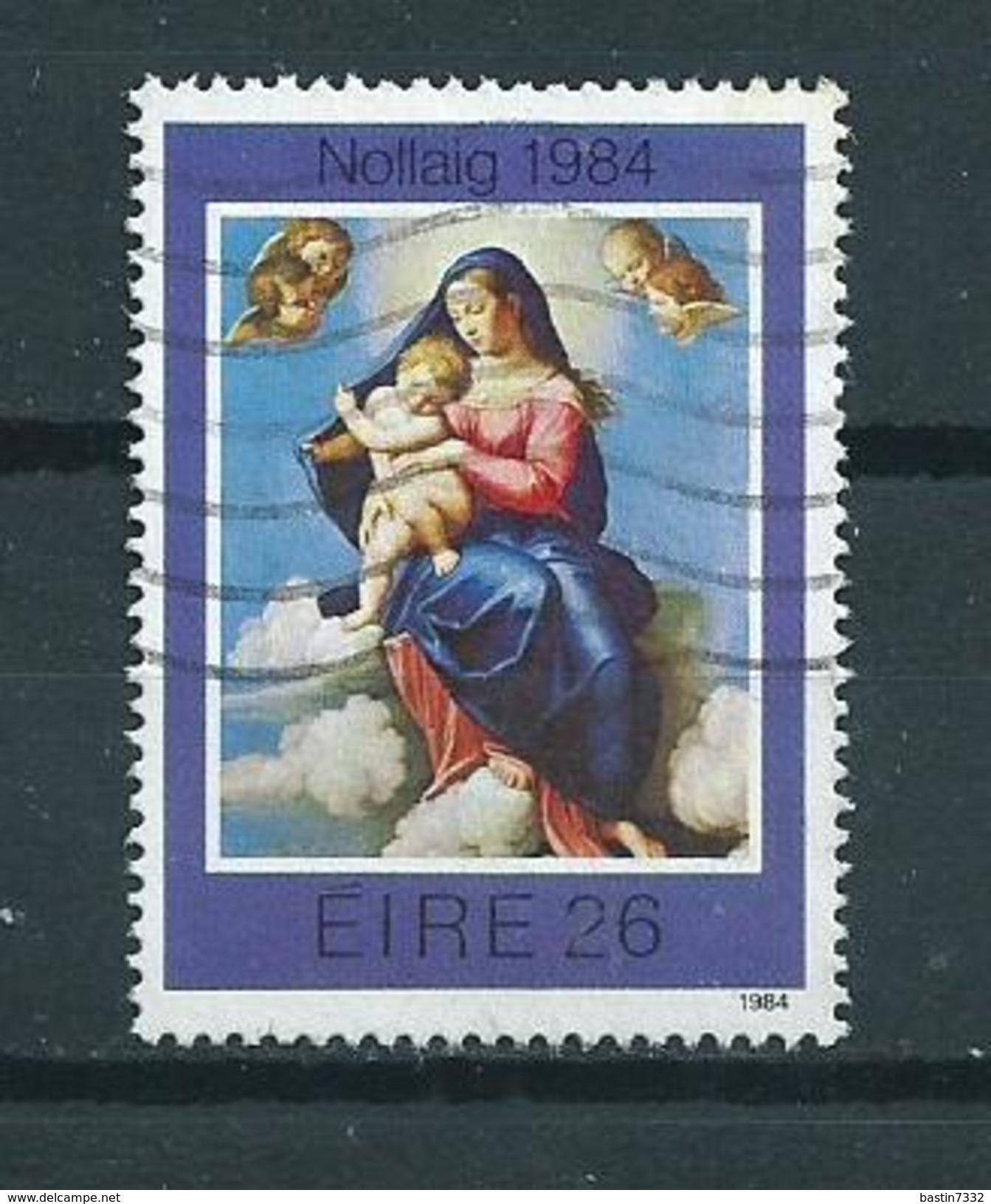 1984 Ireland 26p Kerst,weihnachten,christmas,noël Used/gebruikt/oblitere - 1949-... Republiek Ierland