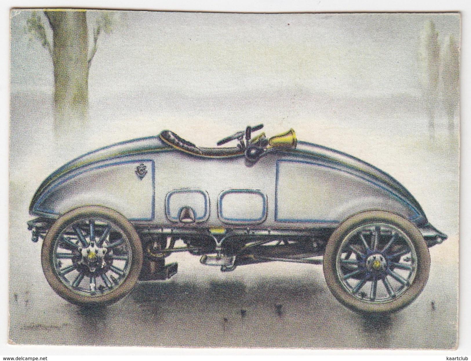 Chromo Cigarettes : Virginia 'Full Speed' - GARDNER-SERPOLLET , Bj. 1902 - (Frankrijk) - No. 11 - (2 Scans) - Sigaretten