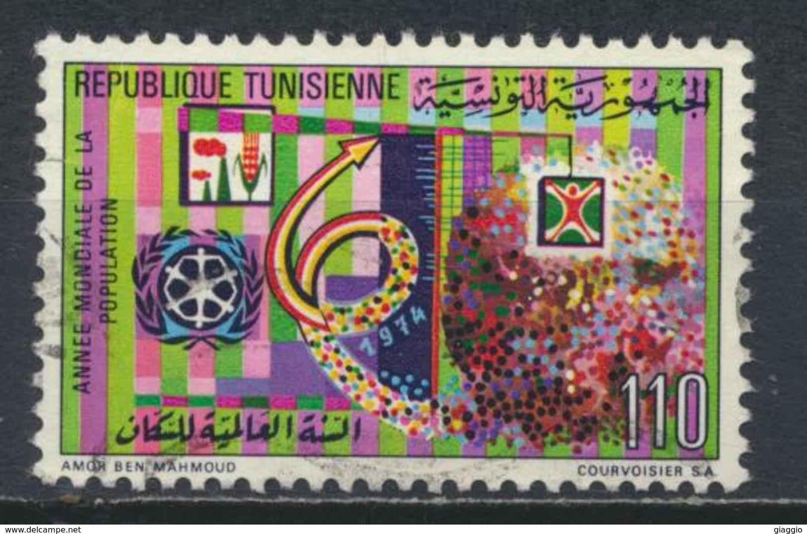 °°° TUNISIA - Y&T N°775 - 1974 °°° - Tunisia (1956-...)