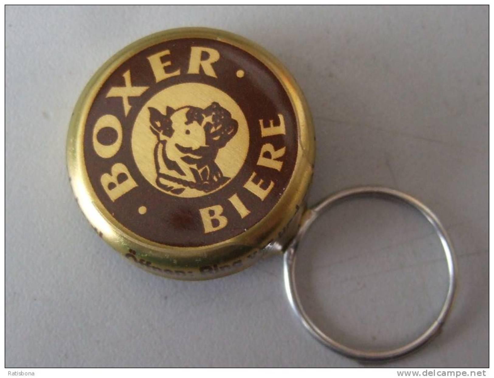 Brasserie Boxer, Lausanne , CH Ungebraucht - Kronkorken, Capsule Neuve, Crowncaps New - Bier