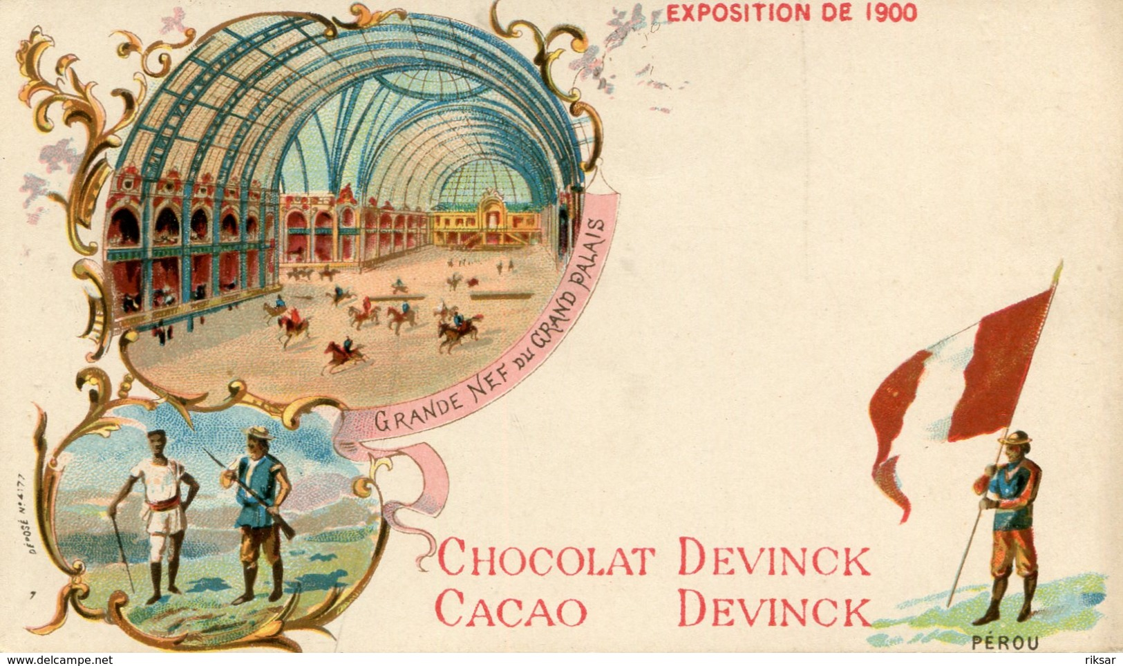 PEROU(EXPOSITION 1900 PARIS) - Peru