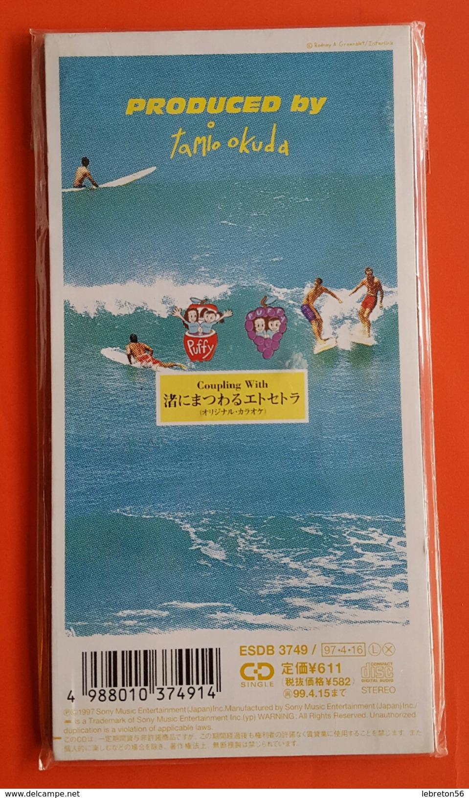 C D Mini Single PUFFY Produit Par Tamio Okuda  Japon - Musik & Instrumente