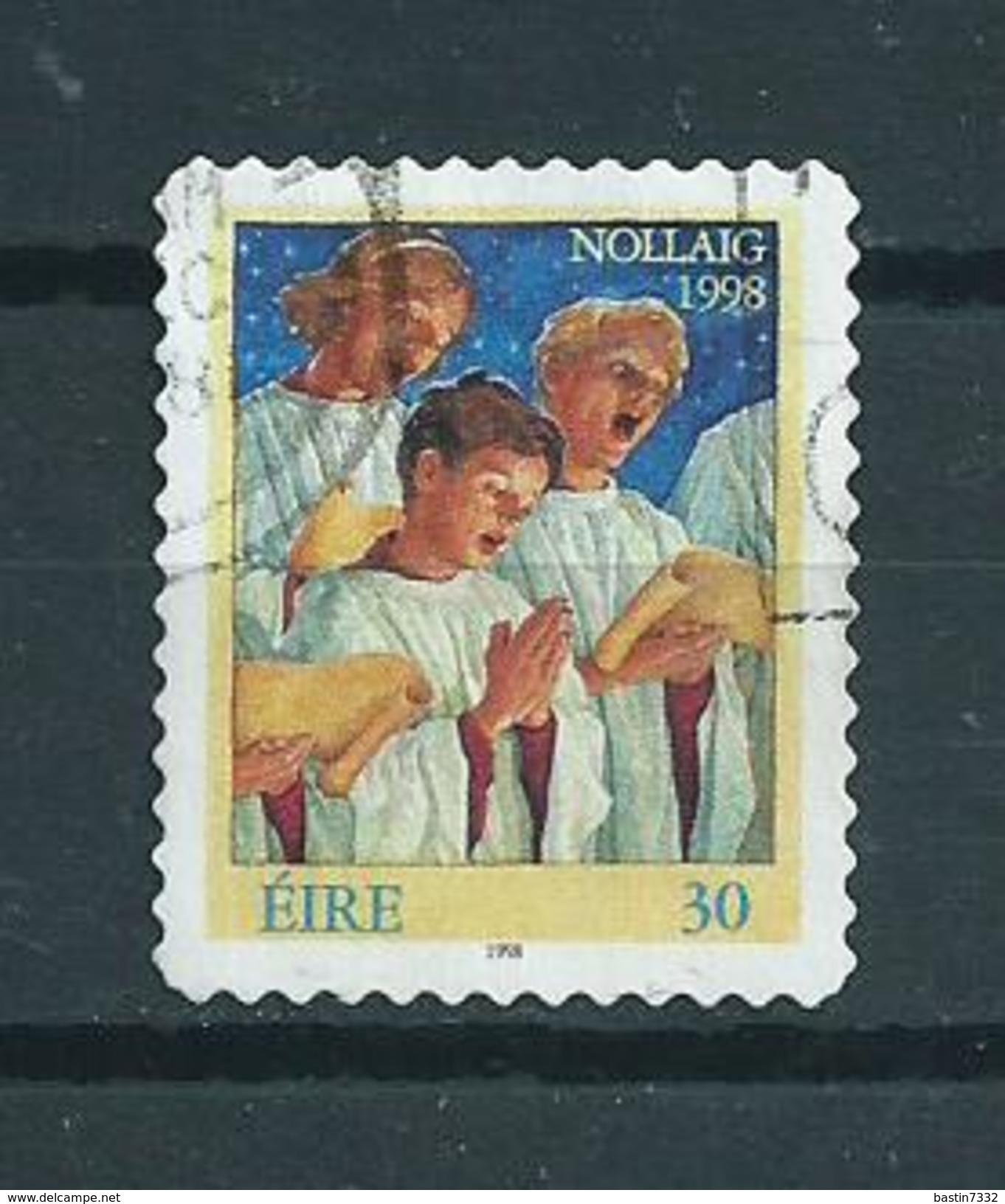 1998 Ireland Christmas,kerst,noël,weihnachten,self-adhesive Used/gebruikt/oblitere - 1949-... Republiek Ierland