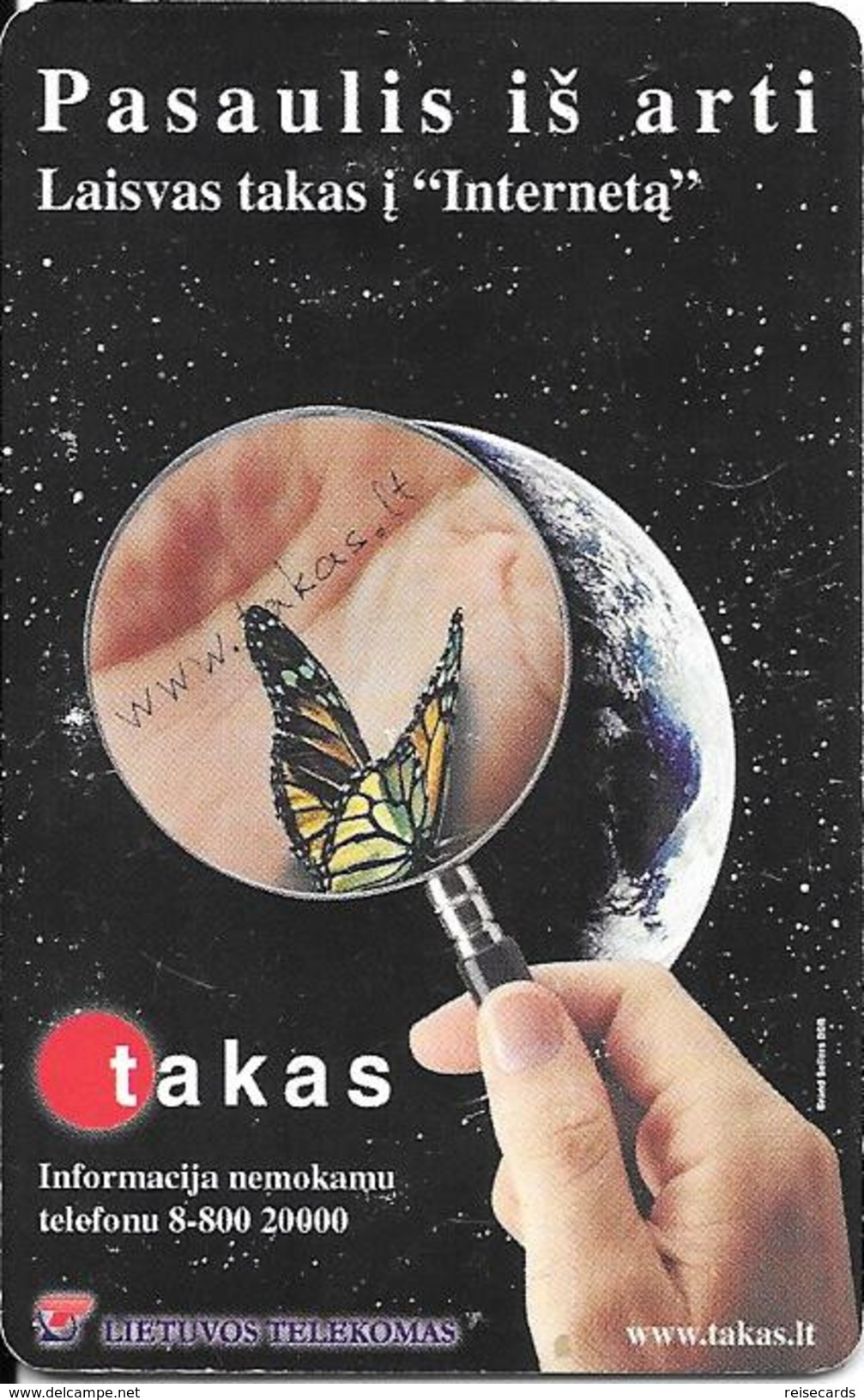 Pasaulis Is Arti - Butterfly - Latvia