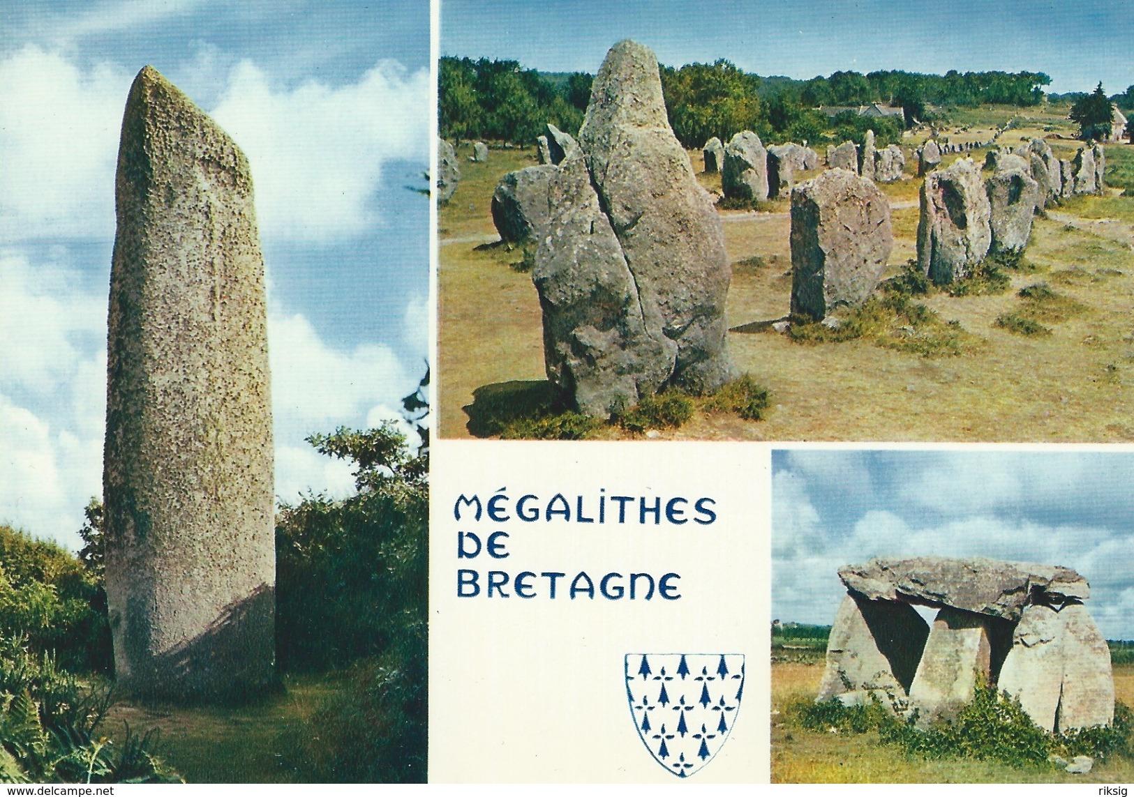 Megalithes De Bretagne.  Menhir De Kerloas.     B-271 - Dolmen & Menhirs