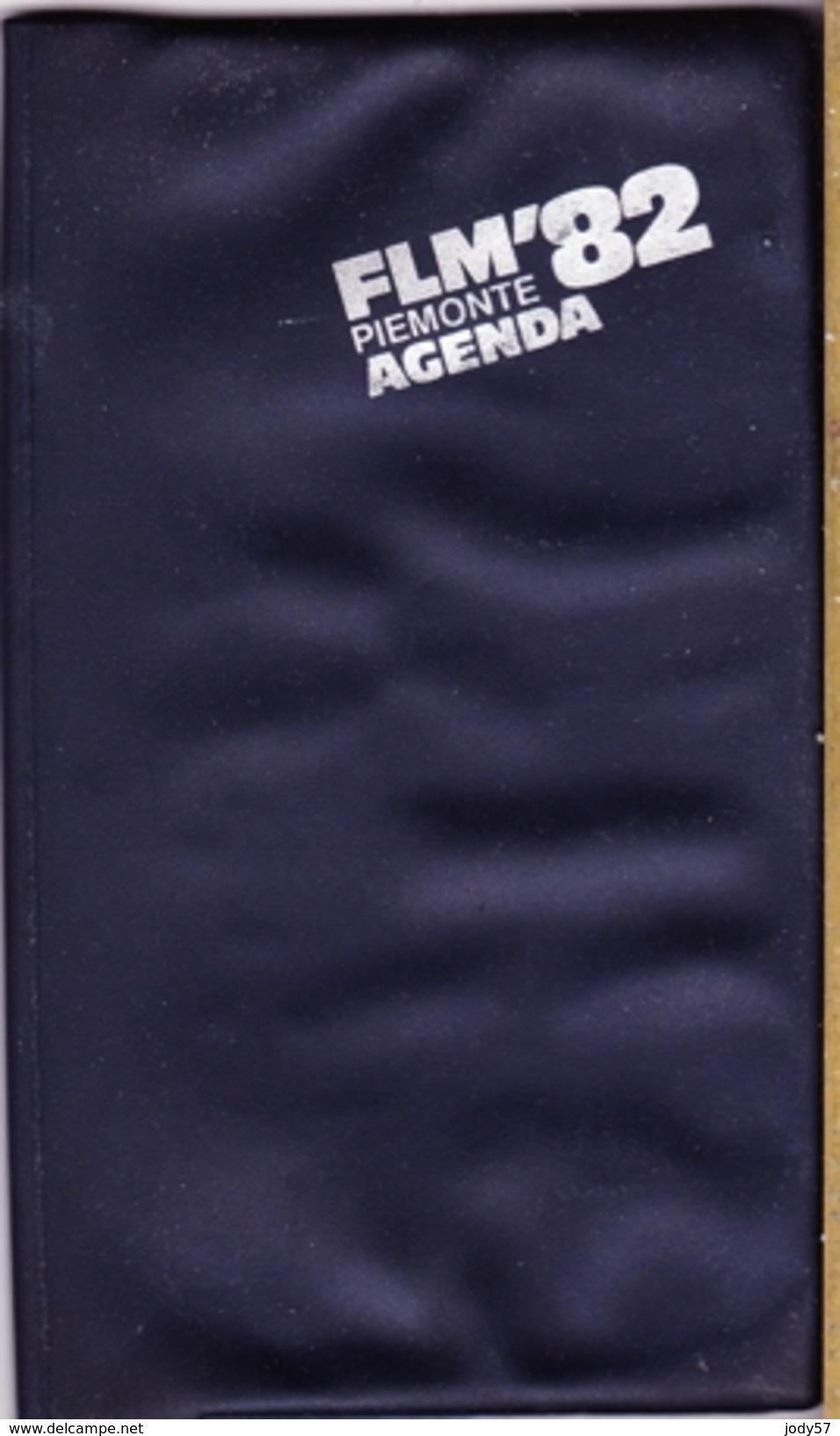 CALENDARIO TASCABILE AGENDINA - FLM PIEMONTE 1982 - Calendari