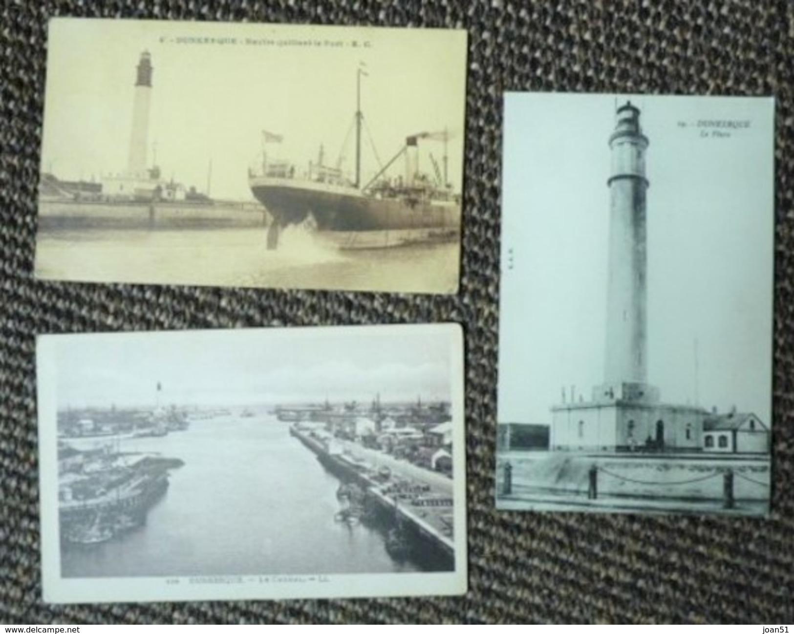 C 30 3 CARTES DUNKERQUE - Dunkerque