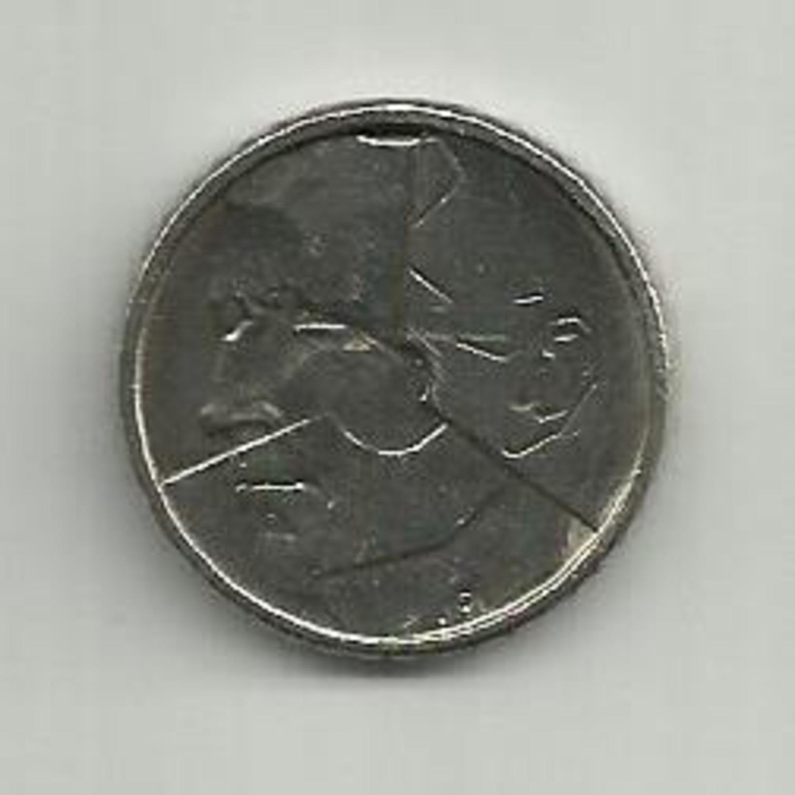 Pièce Belge De 50.fk. De 1987 - 1951-1993: Baudouin I