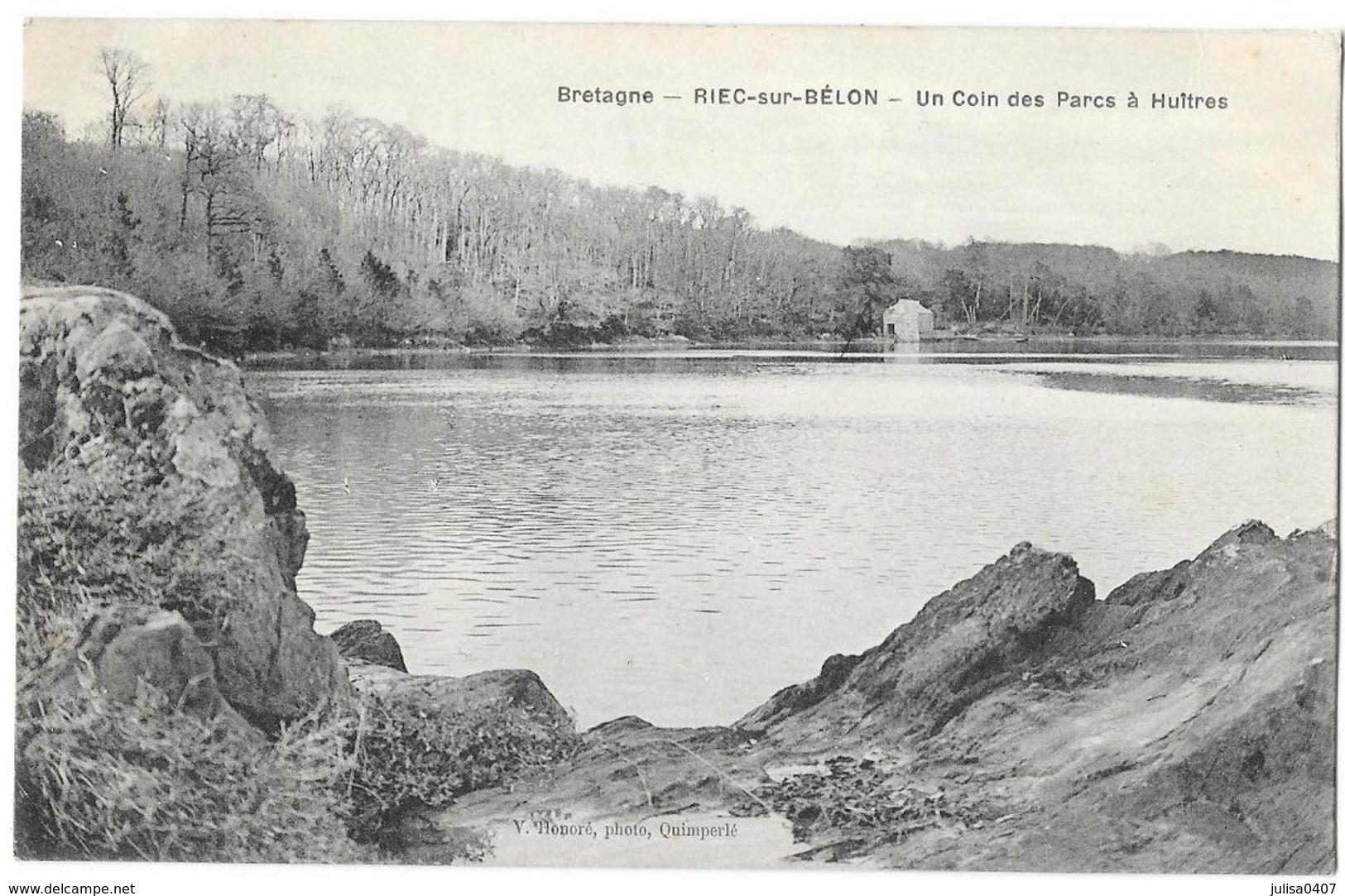 RIEC SUR BELON (29) Un Coin Des Parcs à Huitres - France
