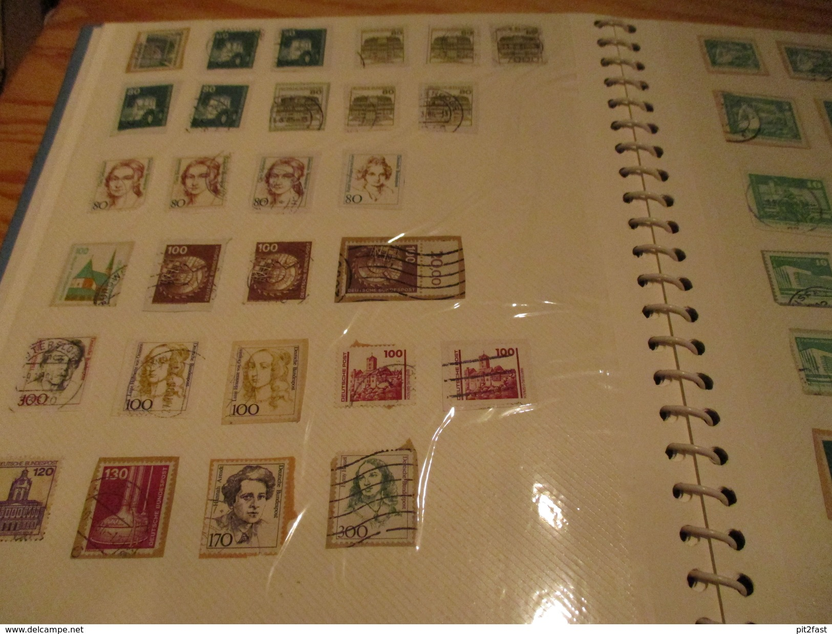 Aus Nachlass - Briefmarkensammlung Im Album - Siehe Bilder !!! Briefmarken , Album - Briefmarken