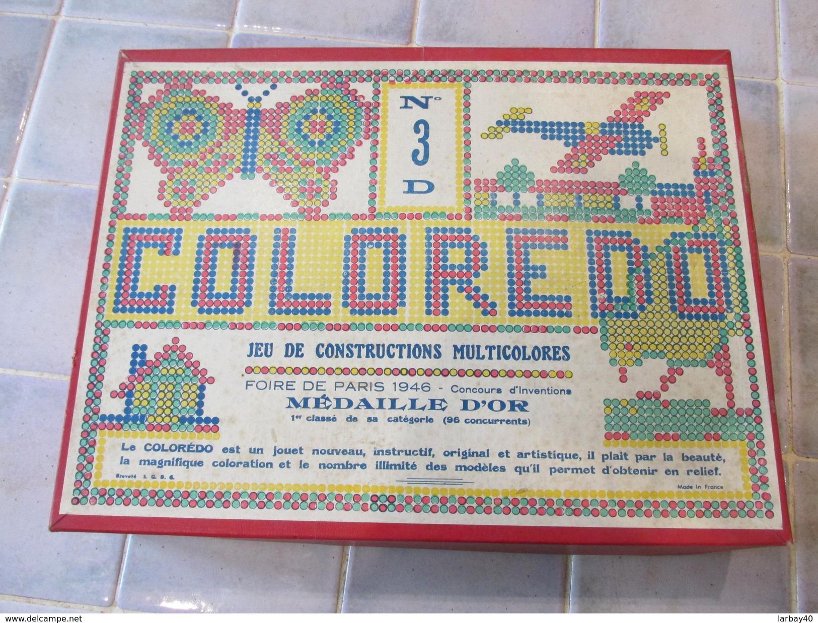 Jeu De Construction Coloredo N°3 - Other Collections