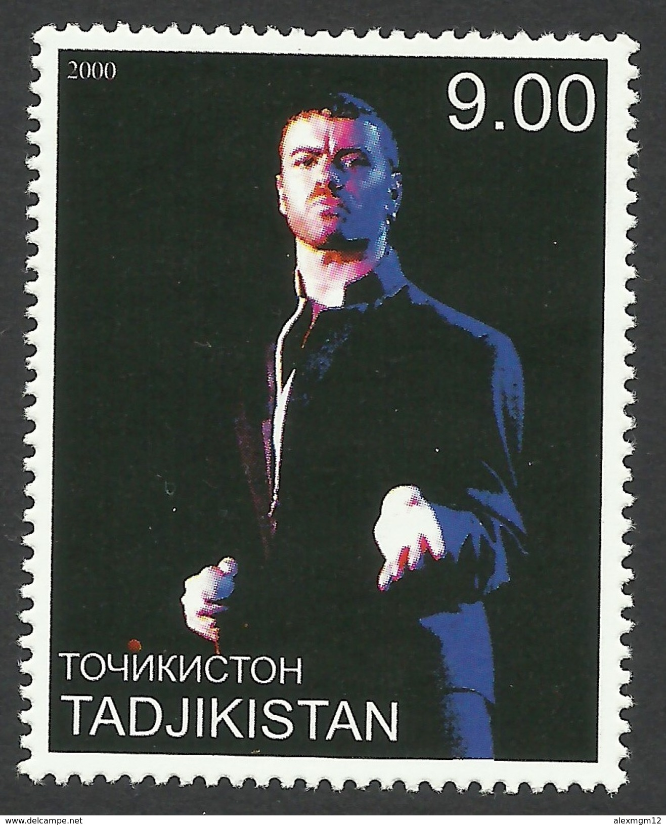 Tajikistan, 9 S. 2000, George Michael, MNH - Tajikistan