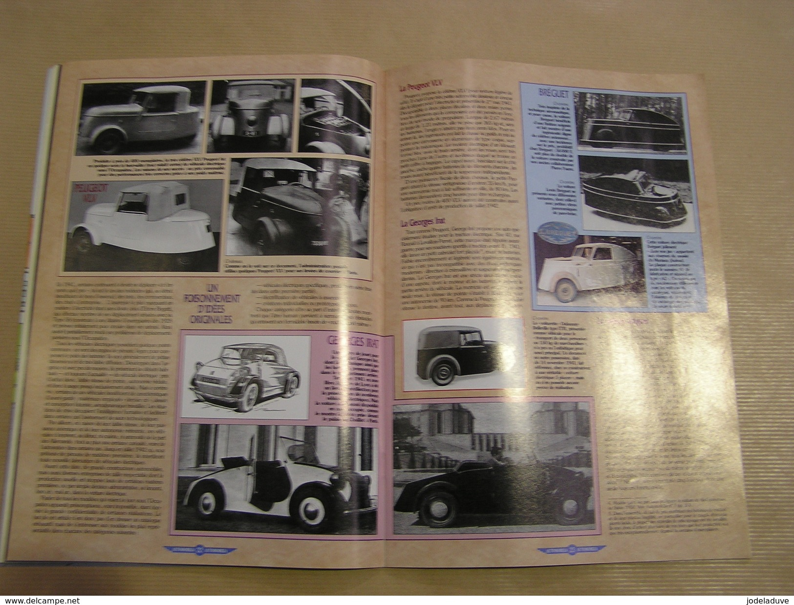 AUTOMOBILIA N° 21 Citroën DS Simca Présidence Voiture Electrique Occupation Guerre VP Vernet Dinky Toys Auto Automobile - Auto/Moto