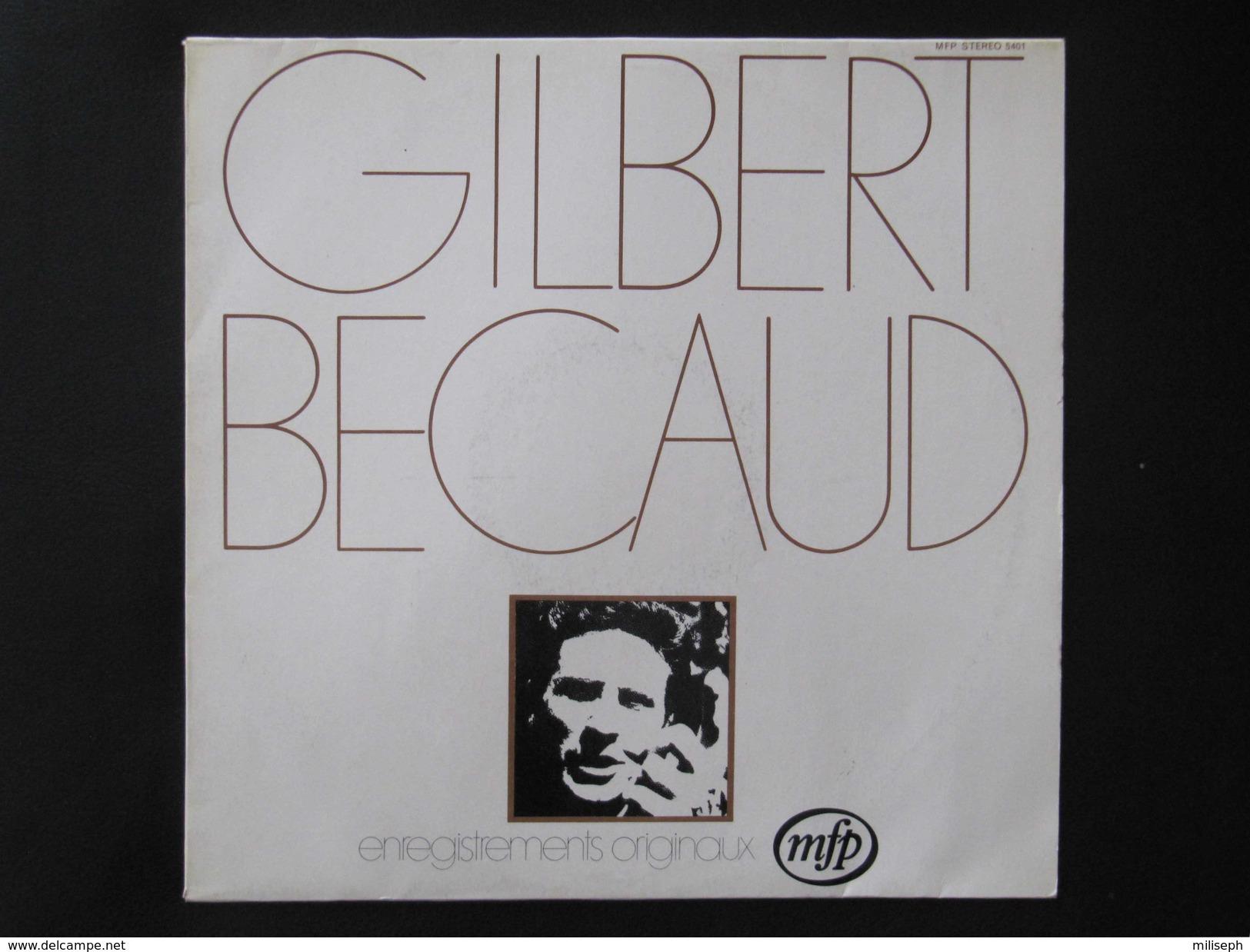 Disque 33 T - GILBERT BECAUD - Enregistrements Originaux - 1971  (4303) - Vinyles