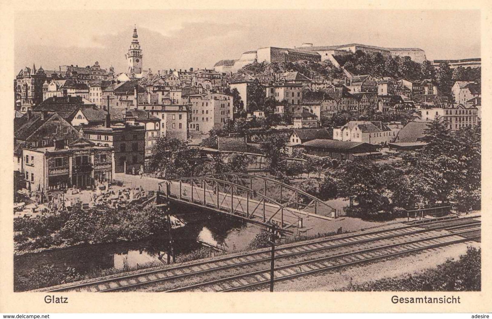 GLATZ (Kłodzko, Polen) - Gesamtansicht, 191? - Polen