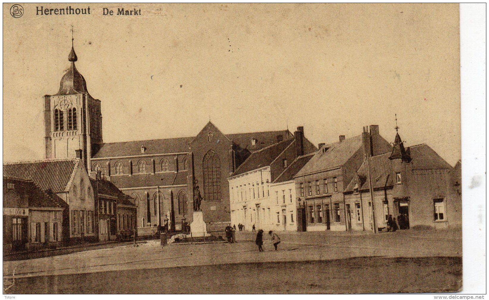 HERENTHOUT  - De Markt - Herenthout
