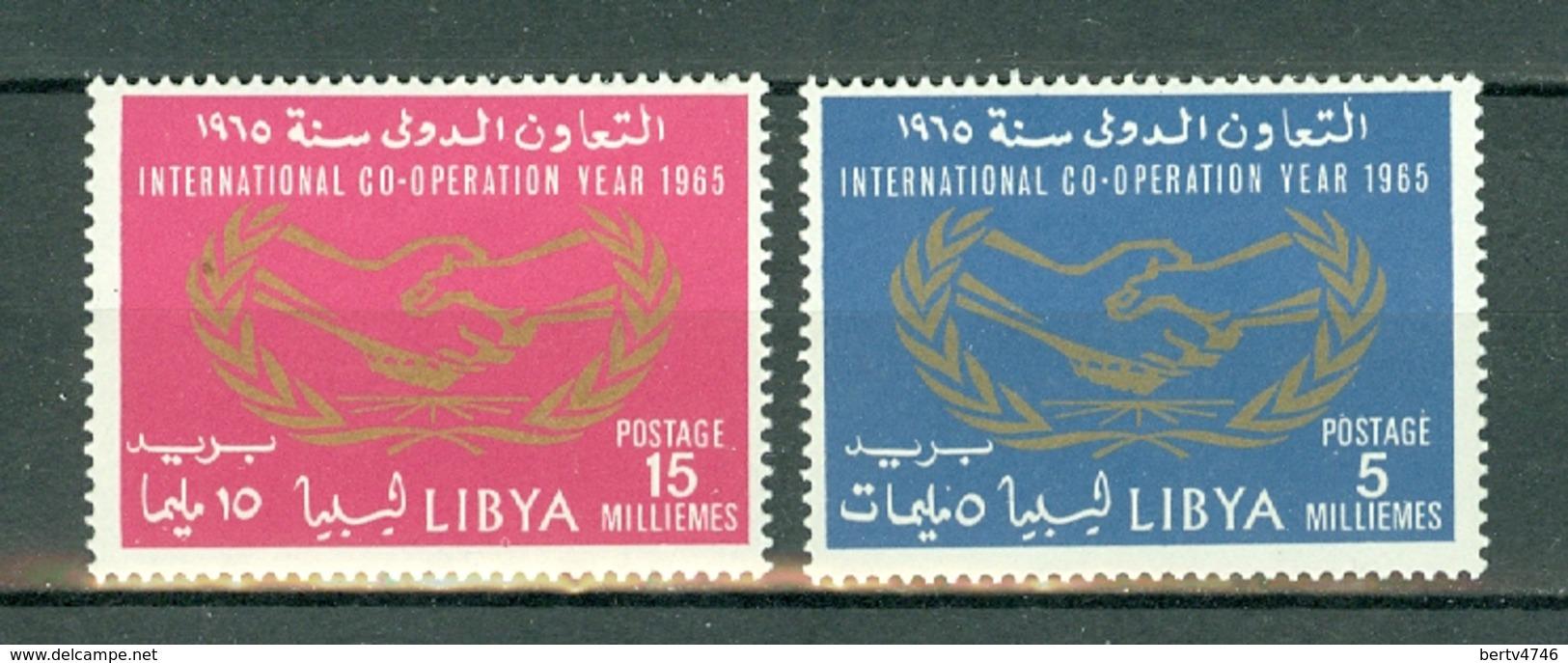 Libia 1965  Mi 261 / 262**  MNH - Libye