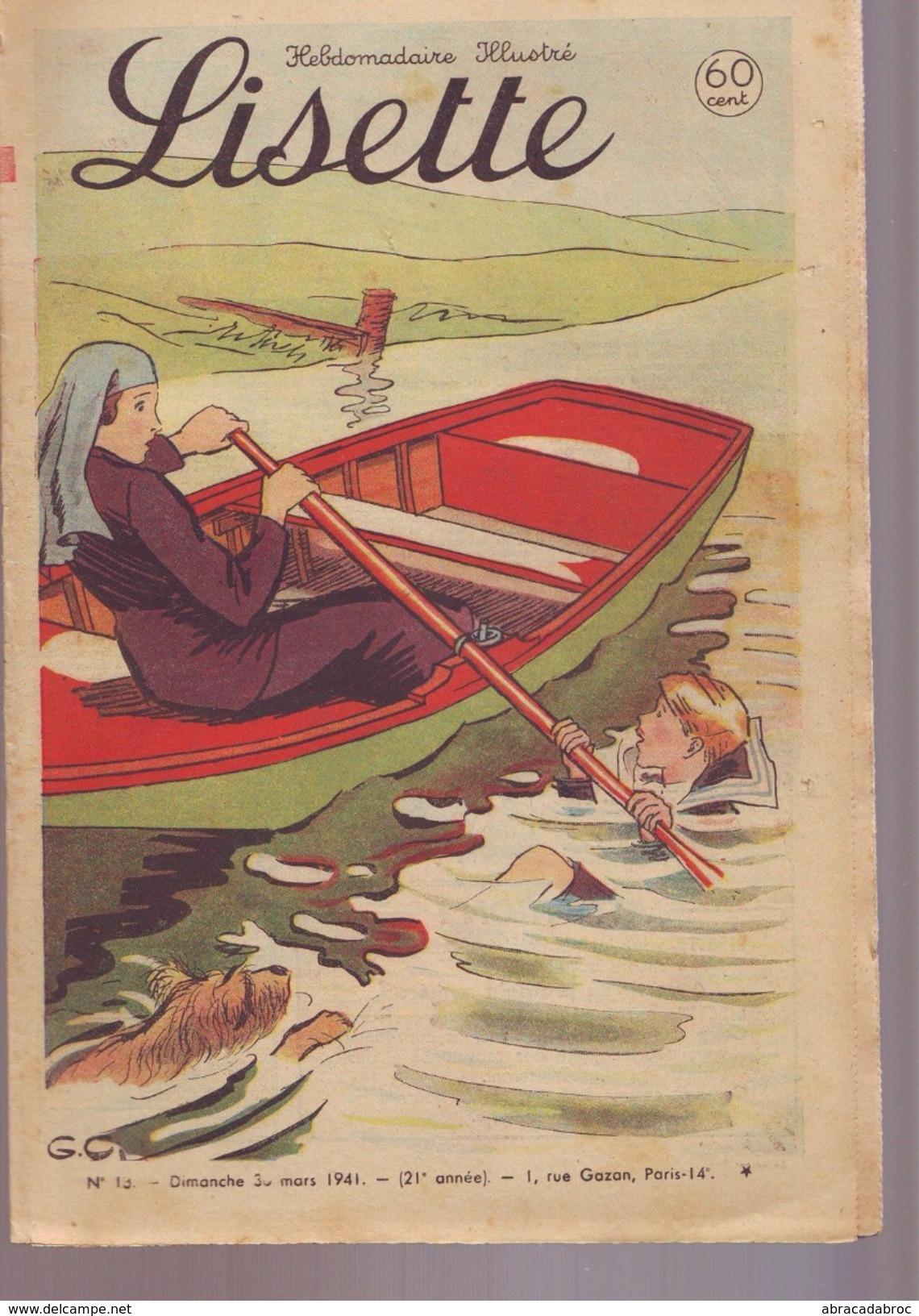 Lisette - Numero 13 - Mars 1941 - Magazines Et Périodiques