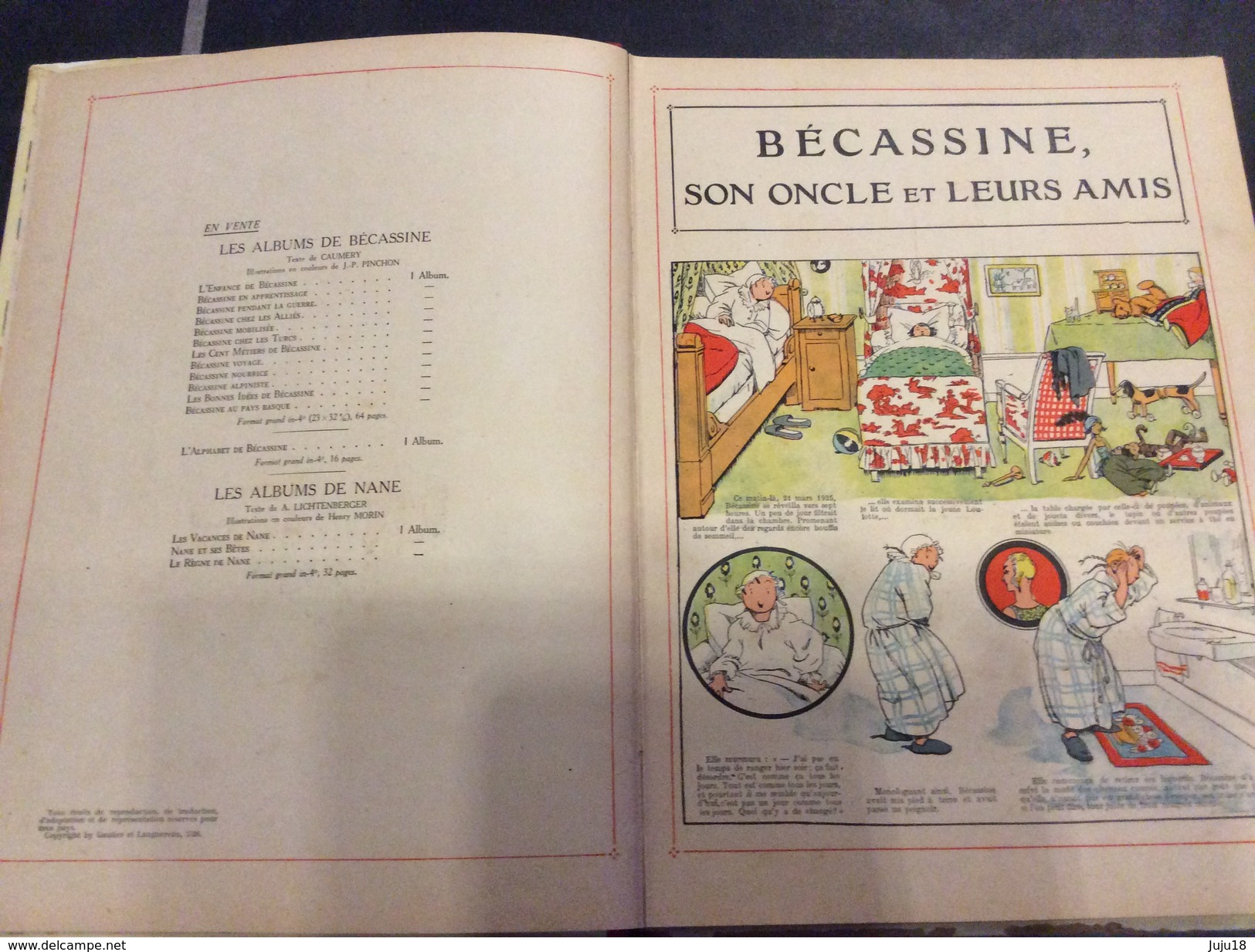 Becassine, Son Oncle Et Ses Amis - 1926 - Bécassine
