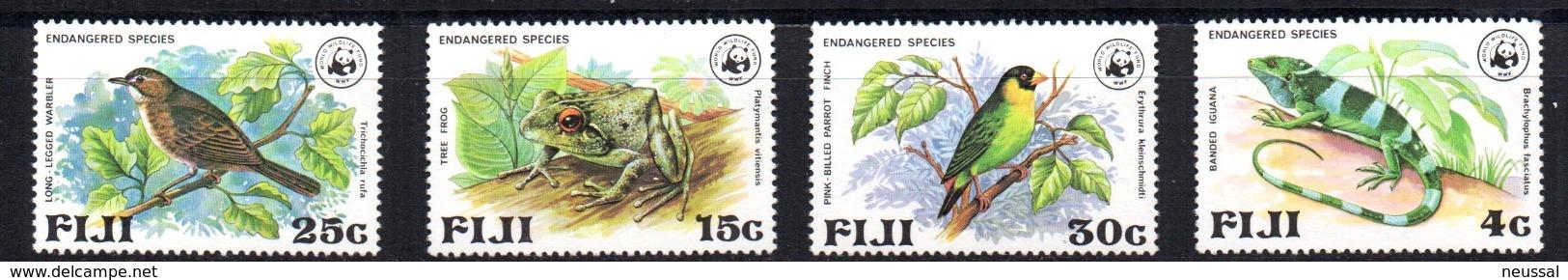 Serie Nº 388/92 Fiji - W.W.F.
