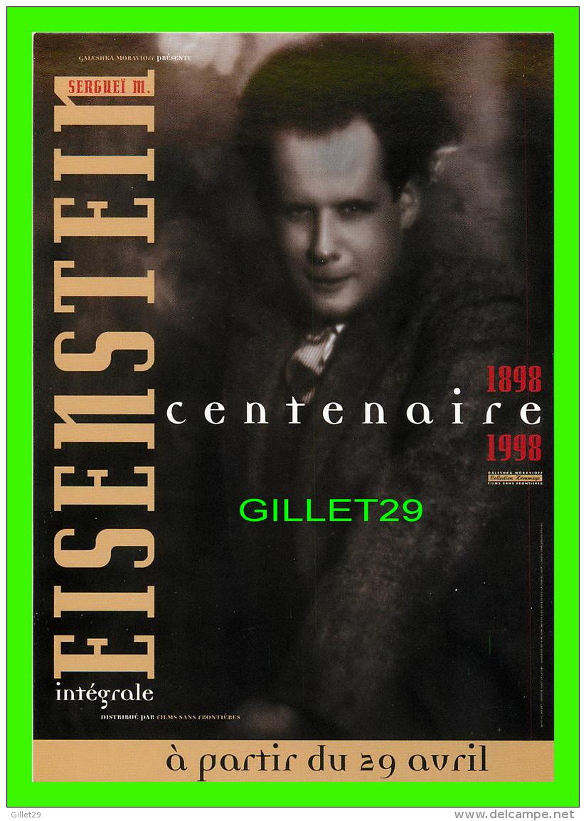 ARTISTES - EISEN STEIN -INTÉGRALE 1898-1998 - FILMS SANS FRONTIÈRES - - Artistes