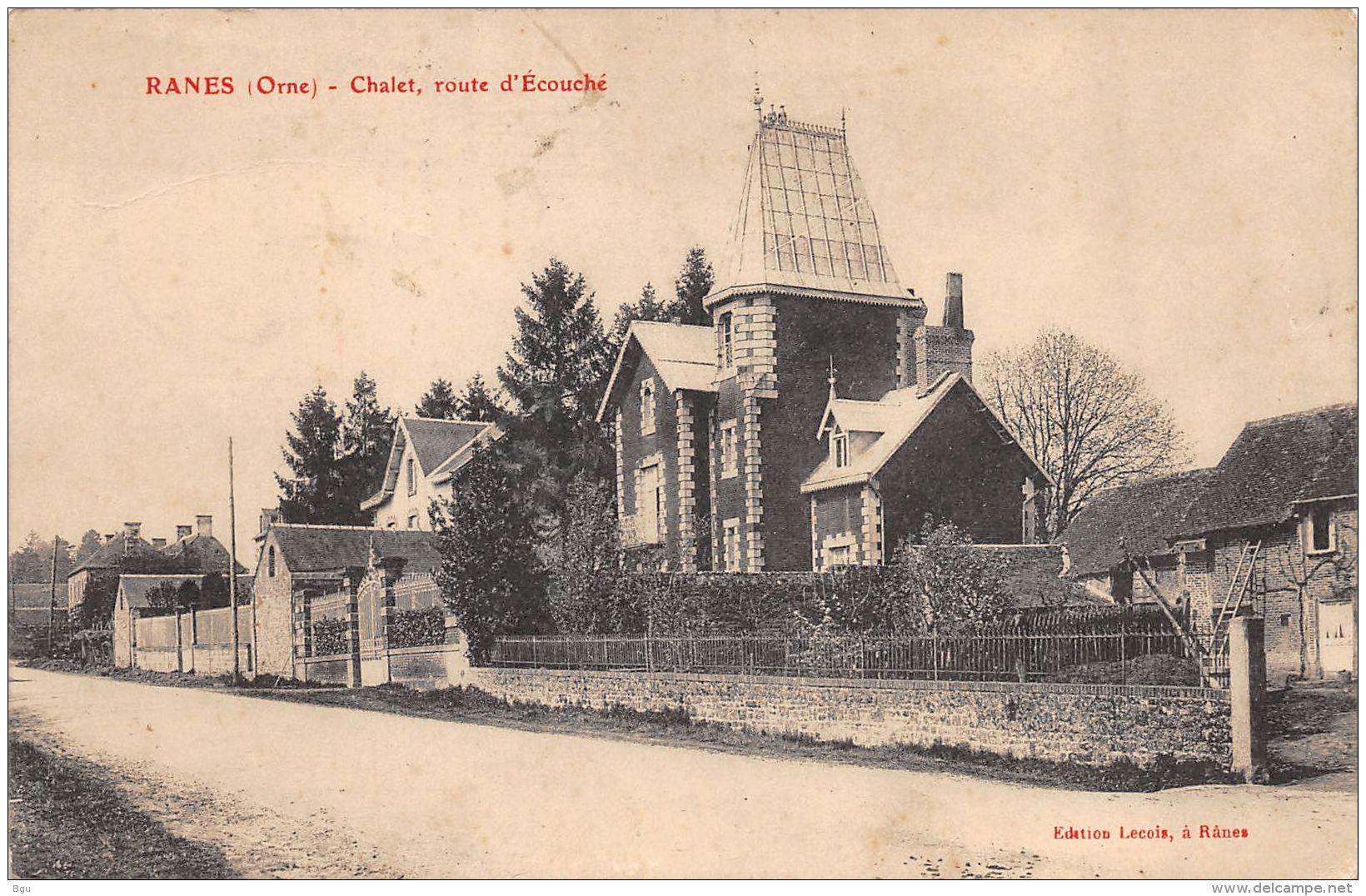 Ranes (61) - Chalet Route D'Ecouché - France