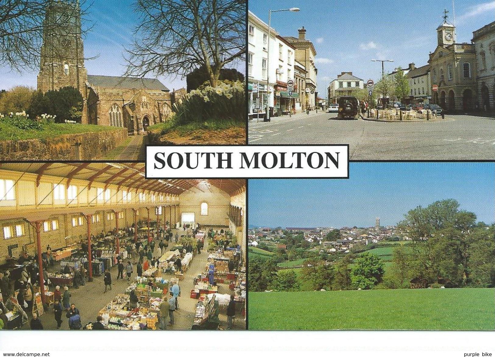 Angleterre Devon South Molton Multi Vues TBE - Angleterre