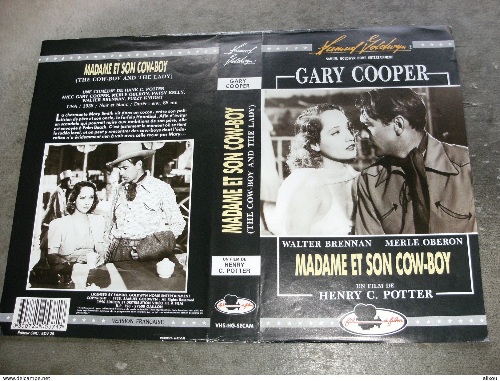 "Rare Film : "" Madame Et Son Cow Boy "" - Western/ Cowboy"