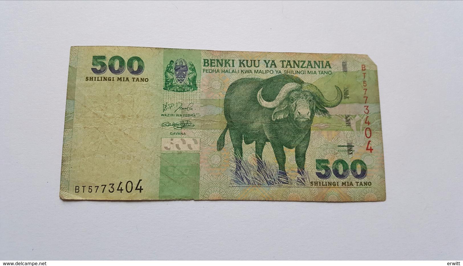 TANZANIA 500 SHILINGI - Tansania