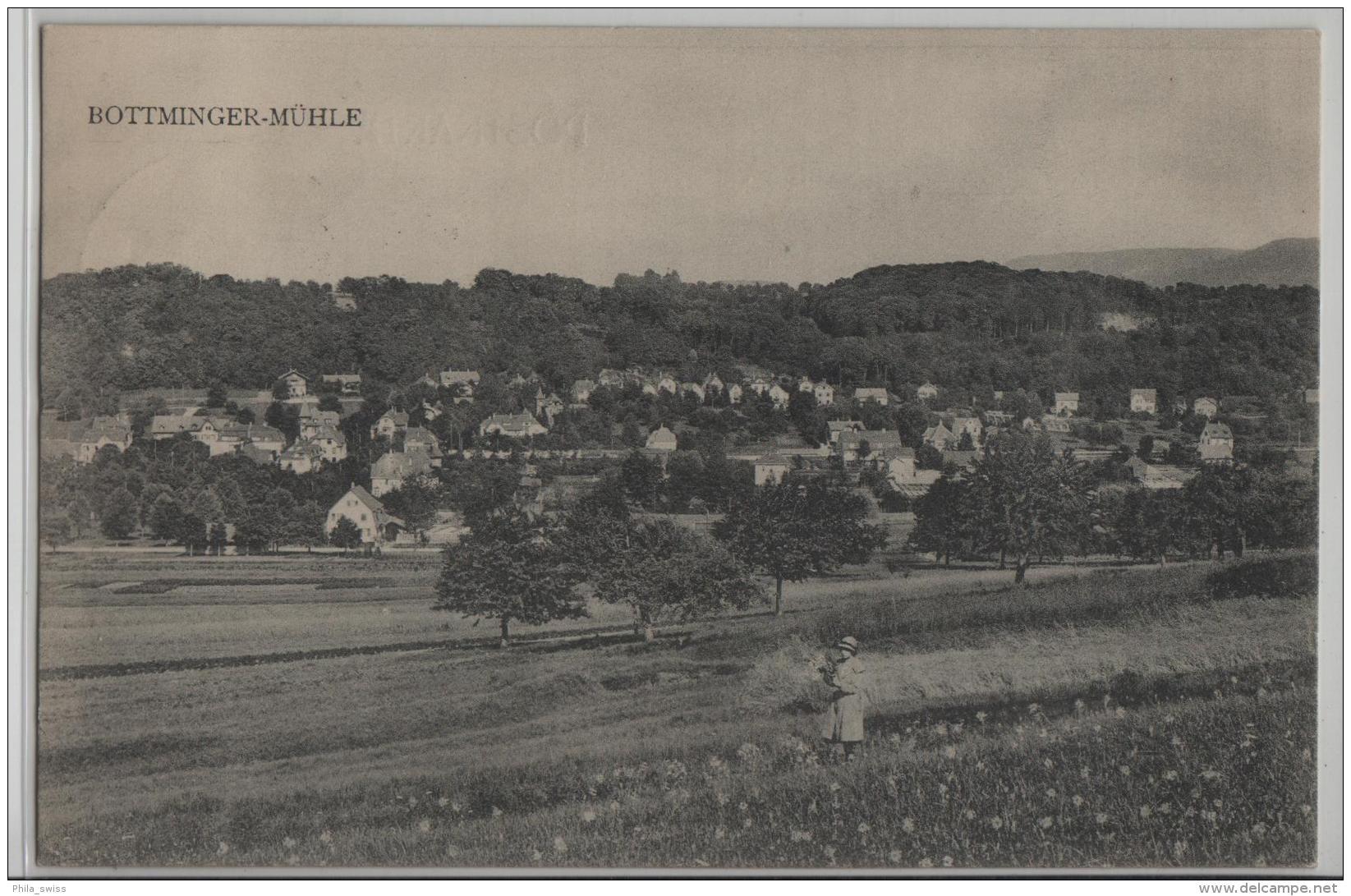 Bottminger-Mühle - Photo: H. Speiser - BL Bâle-Campagne