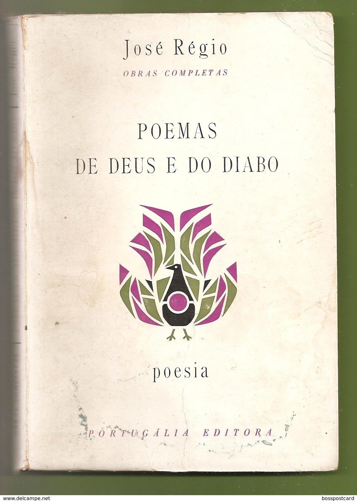 Portalegre - Poemas De Deus E Do Diabo - José Régio - Lisboa - Portugal - Poetry