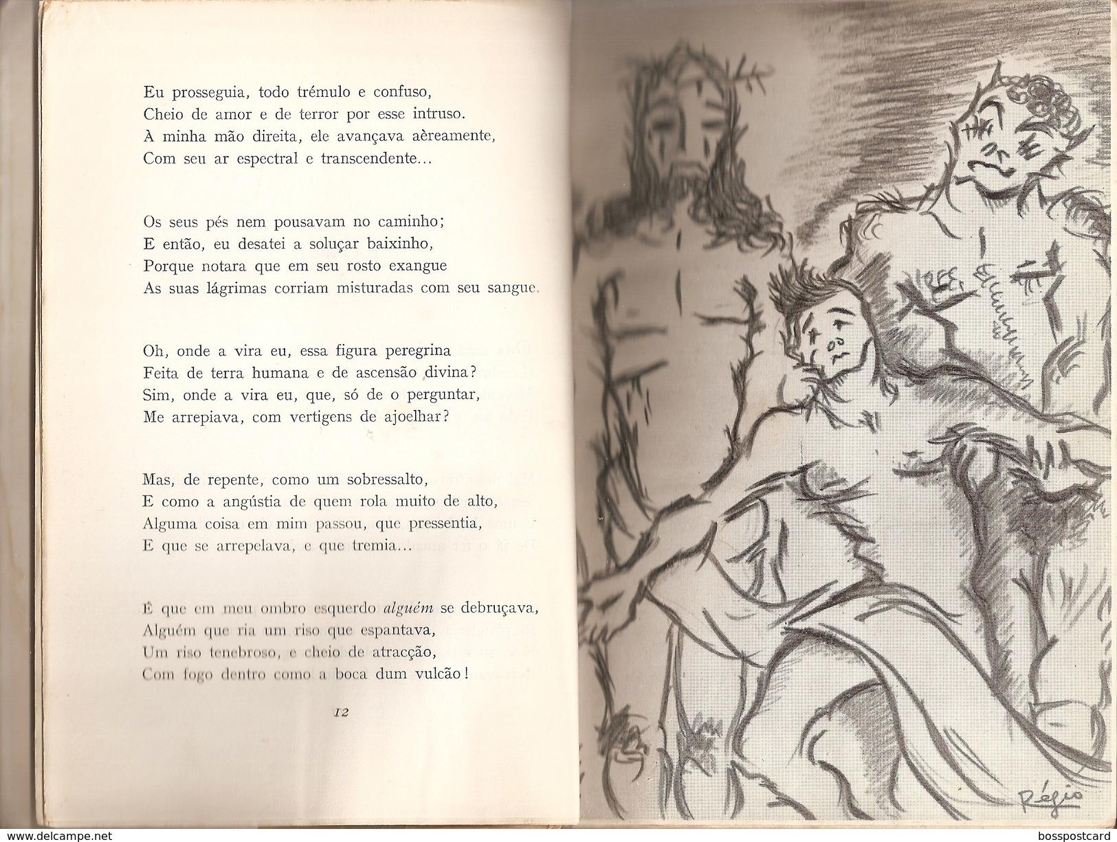 Portalegre - Poemas De Deus E Do Diabo - José Régio - Lisboa - Portugal - Boeken, Tijdschriften, Stripverhalen