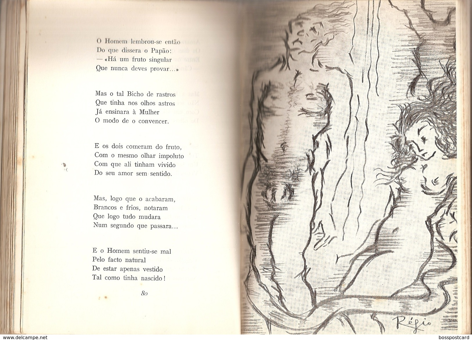 Portalegre - Poemas De Deus E Do Diabo - José Régio - Lisboa - Portugal - Poëzie