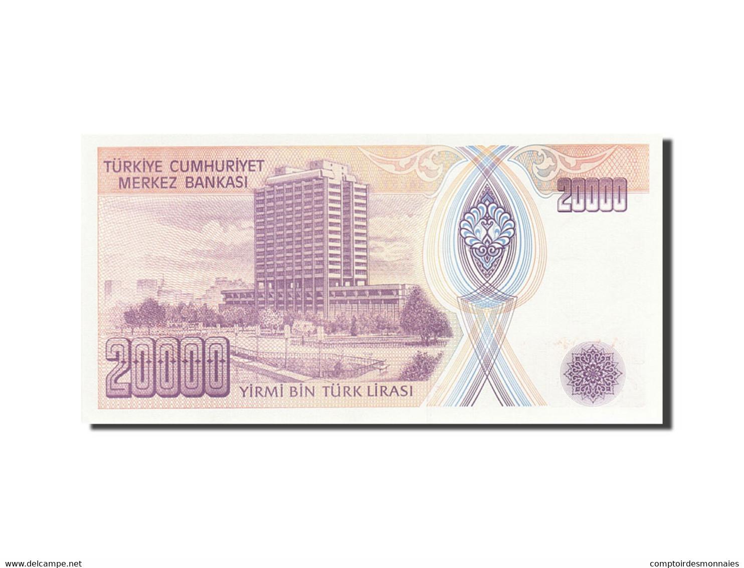 Turquie, 20,000 Lira, 1984-1997, KM:202, 1995, SPL - Turquie