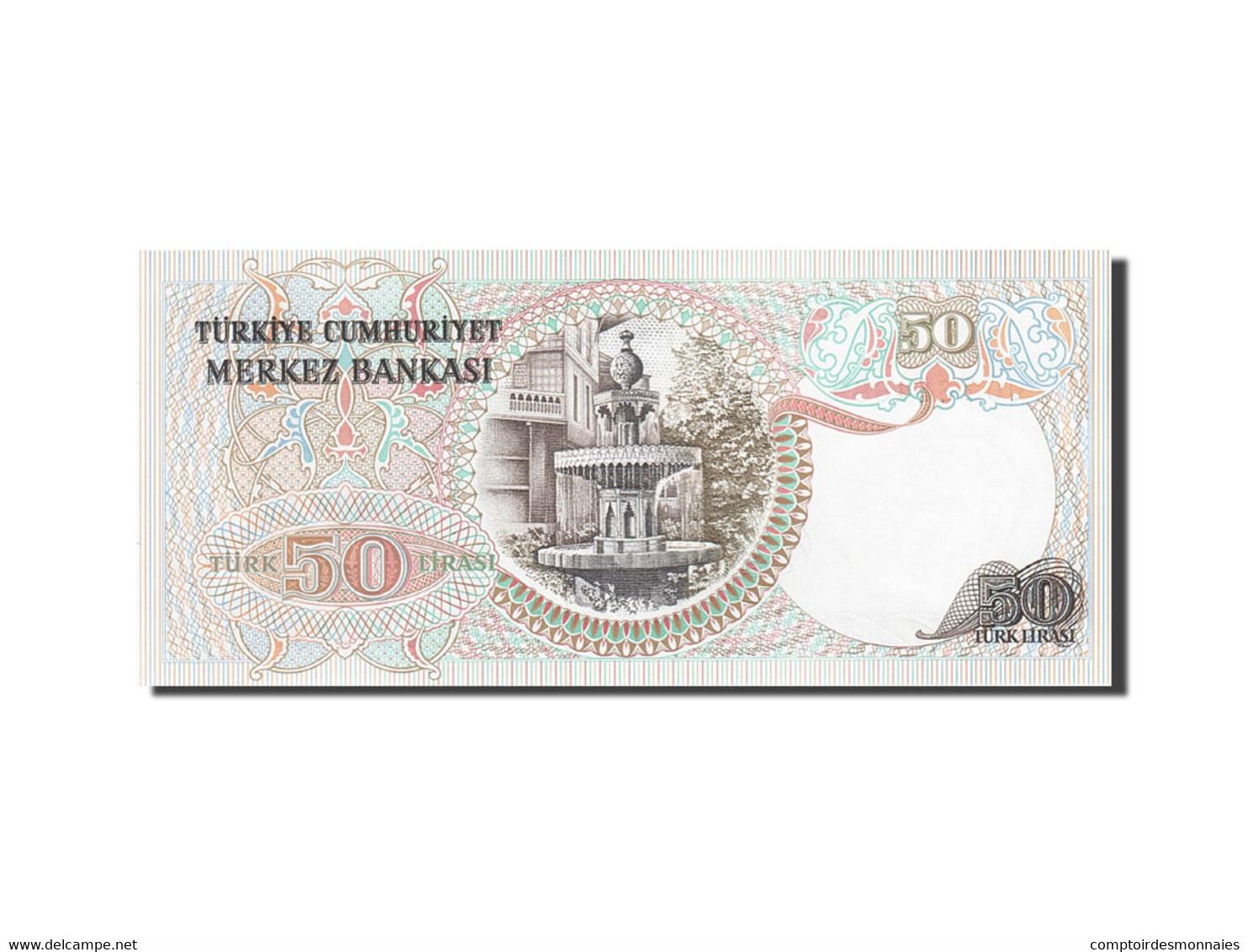 Turquie, 50 Lira, 1971-1982, KM:188, 1976, NEUF - Turquie