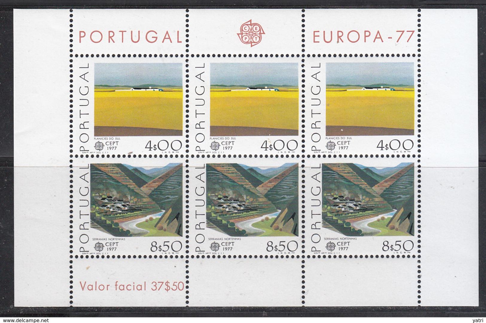 Europa Cept - 1977 Portogallo ** - Europa-CEPT