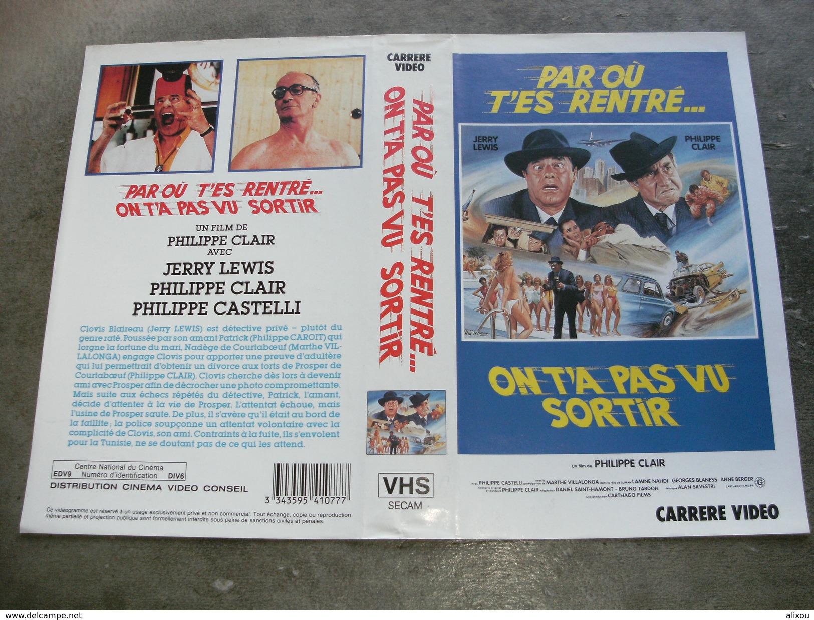 """Rare Film : """" Par Où T'es Rentré On T'a Pas Vu Sortir """" - Comedy"""