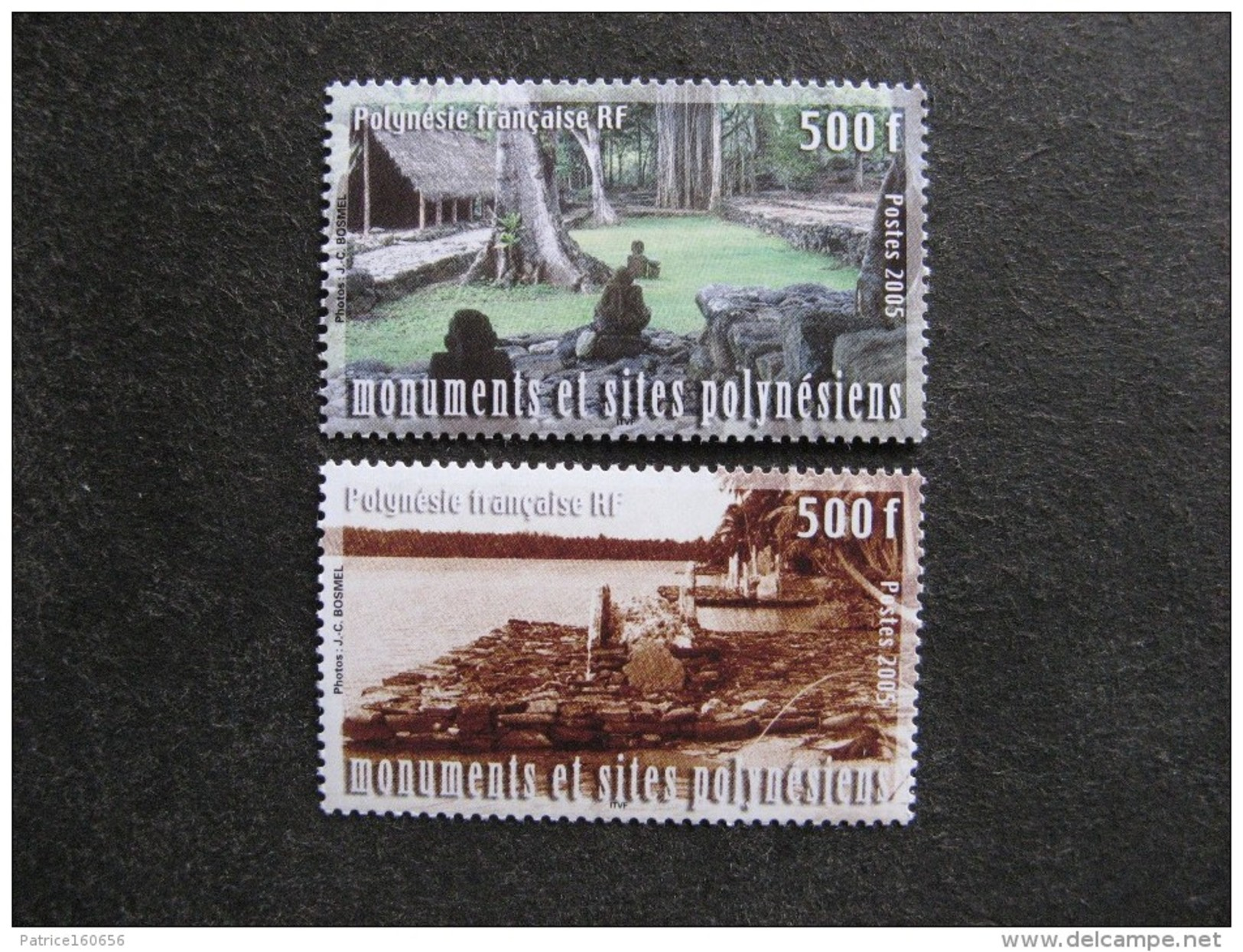 Polynésie: TB Paire N° 757 Et N° 758, Neufs XX. - Neufs